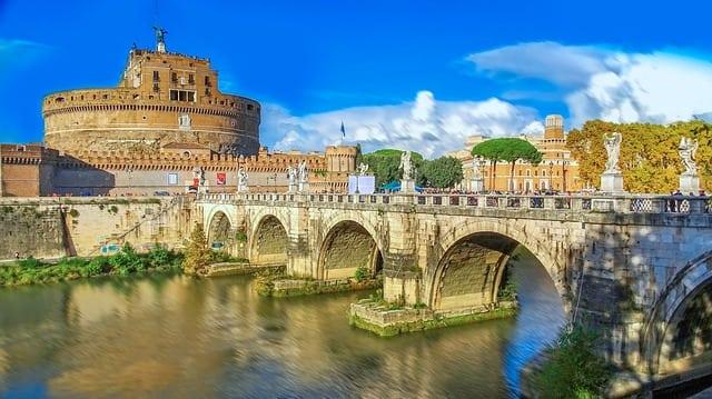CCastillo de Sant'Angelo en Roma
